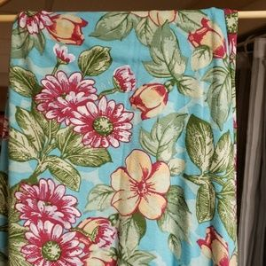 LLR tropical maxi skirt